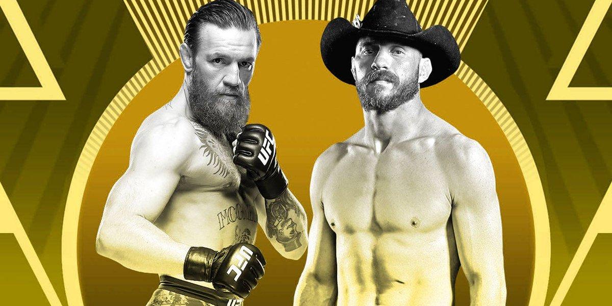 "RT screenrant: Where To Watch the Conor McGregor vs. Donald ""Cowboy"" Cerrone fight LIVE 🤜👉https://buff.ly/37io4pv #ufc245 pic.twitter.com/NfC1rIzKZU"