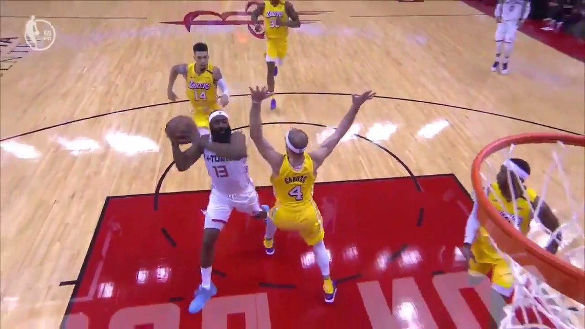 Harden with the clean Eurostep 😯