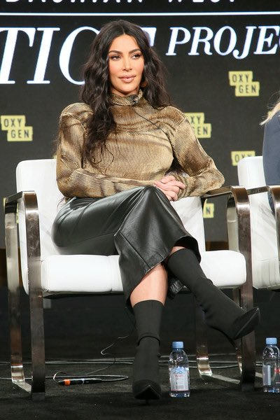 Kim at the 2020 Winter TCA Tour in Los Angeles, CA on January 18, 2020.