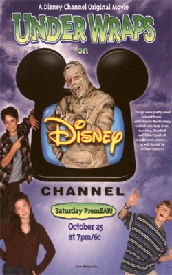 Also not on @disneyplus is the Disney Channel movie, Under Wraps. Harold the mummy was played by Bill Fagerbakke, probably best known for voicing Patrick Star on SpongeBob SquarePants. pic.twitter.com/DBy2RIUDY4