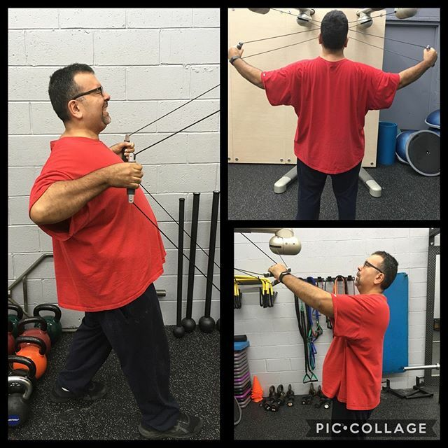 Luis shows the versatility of the Kinesis Training Wall. The muscle groups targeted will be the Latissimus Dorsi and Rear Deltoids. The Full Gravity technology patented by TechnoGym allows Luis to flow through the exercises naturally. With almost unlimit… https://ift.tt/2FZUyZopic.twitter.com/SYa1hlbiZd