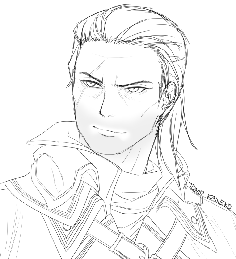 bust ko-fi commission for sunny-self-ship on tumblr!!!  thank you for the support~ #AssassinsCreed pic.twitter.com/zSmxeQ2FVQ
