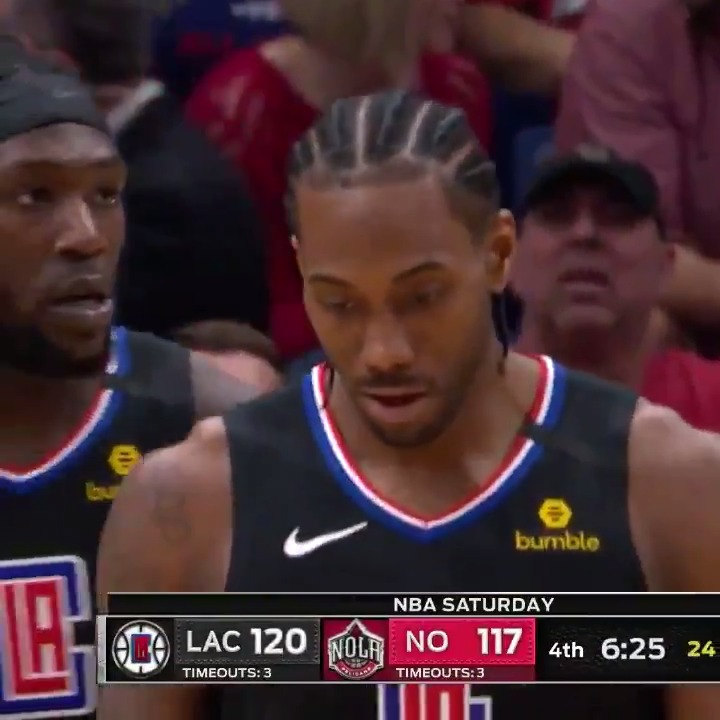 Kawhi (39 PTS & 6 AST) went to work in New Orleans! 😤  #ClipperNation