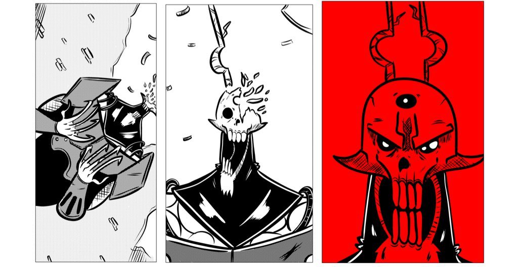 Hey, so I'm looking for comic work this year, and you look like you could use a new, up and coming artist on your project. Think we should start a team? If you like what I do, and you e got a project you think I'd fit, hit me up! #PortfolioDay <br>http://pic.twitter.com/2eFgwfIg5g