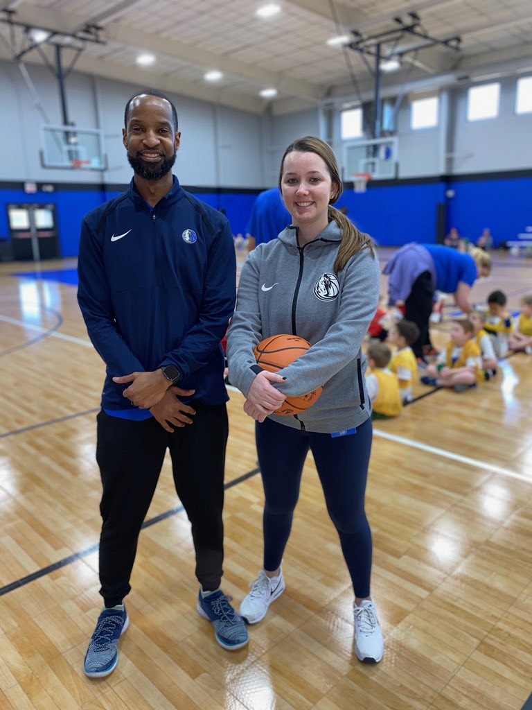 We're so thankful for the hard work of our Mavs Basketball Academy staff! From Mavs' games to working with local youth, they do a great job teaching the next generation of hoopsters! #ThisIsWhyWePlay