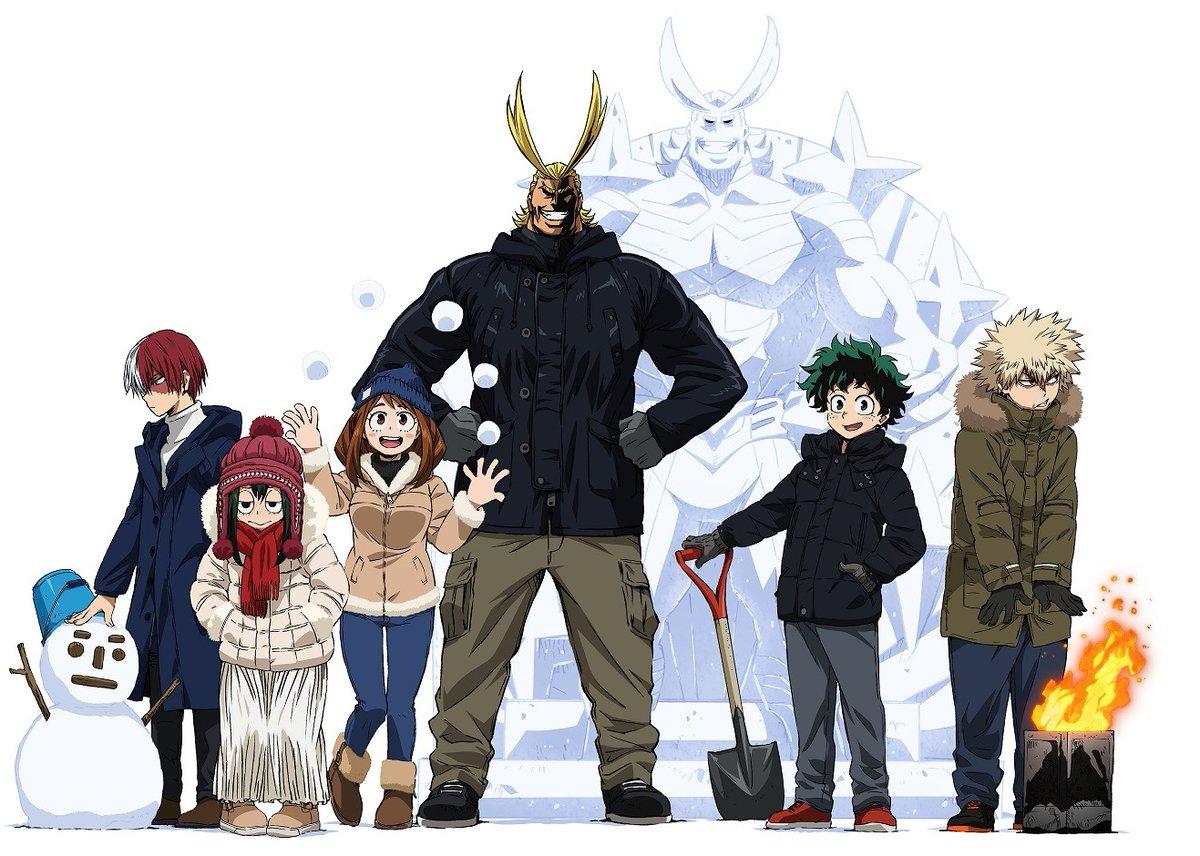 #ヒロアカ が雪まつりに来る!『僕のヒーローアカデミア』が「さっぽろ雪まつり」に参戦決定! 2/4(火)~11(火・祝)に北海道札幌市で開催の恒例イベントを #ヒロアカ がデクとオールマイトの雪像やオリジナルグッズなどで盛り上げます。ぜひ会場へ!詳しくはこちら→#heroaca_a