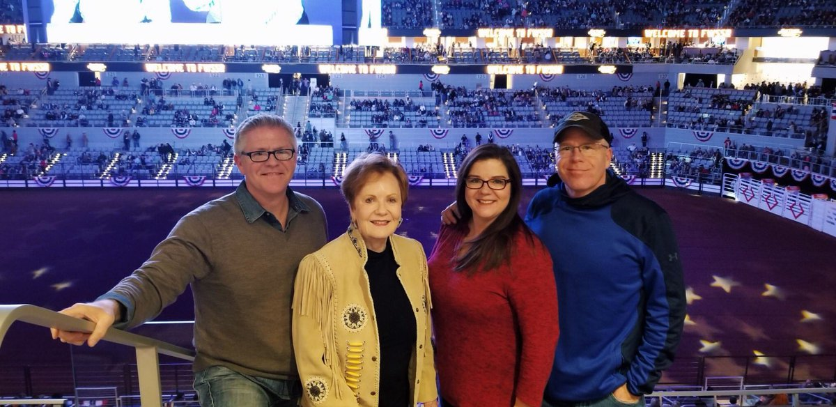 The @FWSSR is an iconic part of Fort Worth. I brought my kids, JD, Chelsea, and Brandon, when they were young, and it's still a family tradition.