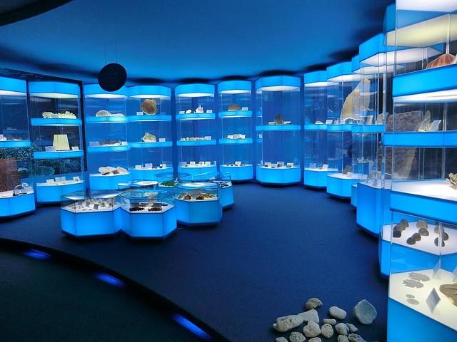 【行きたい】まるで『ナイトミュージアム』?島根の泊まれる博物館3階が宿泊施設で、夜の博物館を楽しむことが可能。客室には「恐竜ルーム」もあり自然の中にいるような内装となっている。