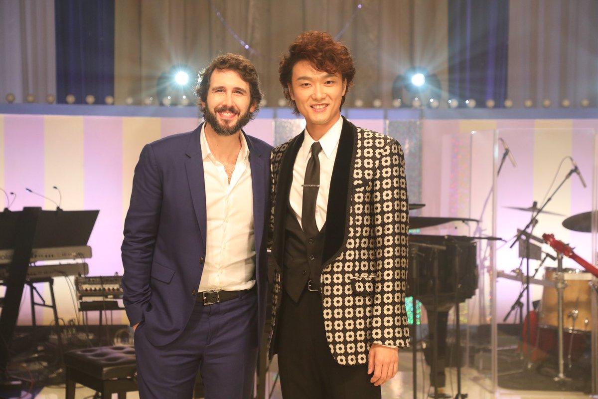 番組情報ジョシュ と 井上芳雄さん の 美しい歌声が重なり合う デュエットの映像が見られる 「グリー