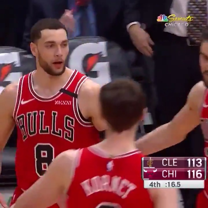 Zach LaVine (42 PTS) recorded the 7th 40-point game of his career! 👏   #BullsNation