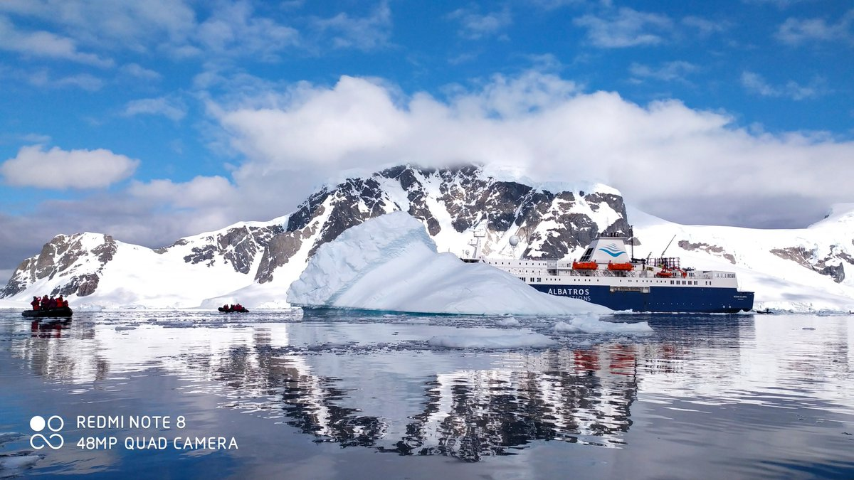 Check out the breath-taking scenery of Antarctica captured by the #RedmiNote8 series! What do you think of these incredible photos? #LiveForTheChallenge