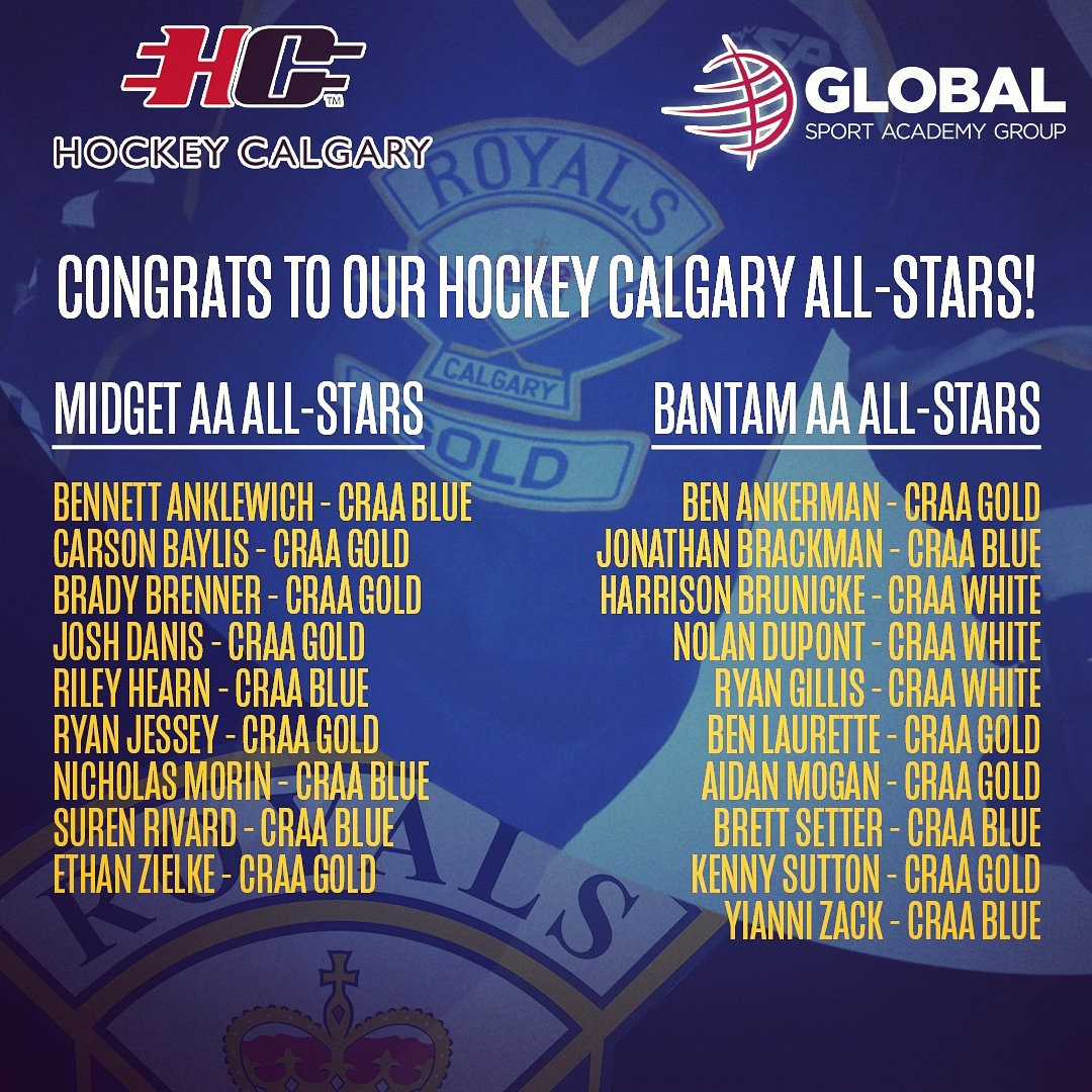 Enormous shoutout to a long list of #werglobalsport Athletes who were named to their respective @hockeycalgary All-Star Games! Puck drop is tomorrow at the Max Bell,  5:15 PM for the Bantams & 8 PM for the Midgets!  #athletedevelopment #hockeycalgary #skillsfirst @CalgaryRoyals<br>http://pic.twitter.com/yVjXCXInQW