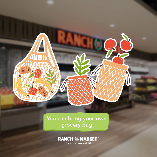 Yes you can bring your own grocery bag to Ranch Market so you do not need to take a single use plastic for your fruits.   #SaveEarth #NoPlastic #ZeroWaste #GoGreenpic.twitter.com/up5ucMzOJj