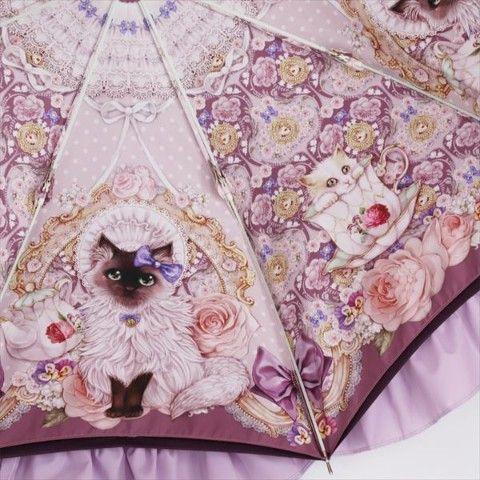 白猫たちのtea party https://t.co/YSKWPs3TRV イラストレーター「千秋薫」さんとLumiebreさんのコラボ傘 細部まで描きこまれた猫とテキスタイルが美しすぎです。  晴雨兼用なので毎日お使いい… https://t.co/WZCql9WhPa