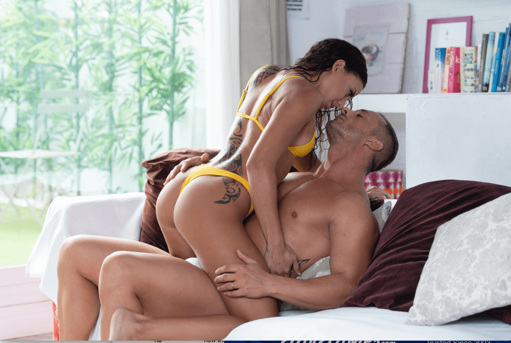 Married couple fucking a young girl