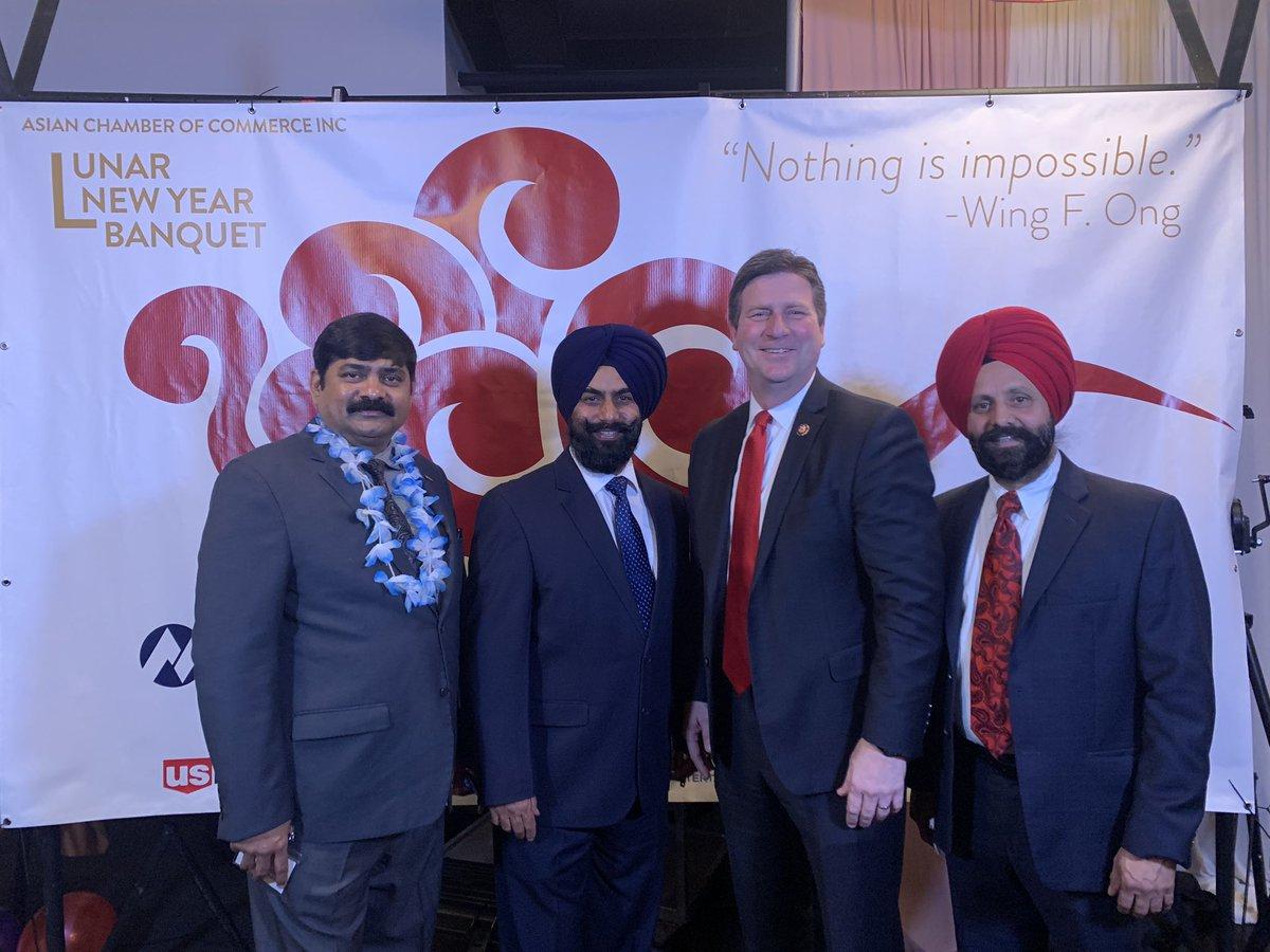 Lunar year celebration 🎉 I with Dear friend Congressman Greg Stanton