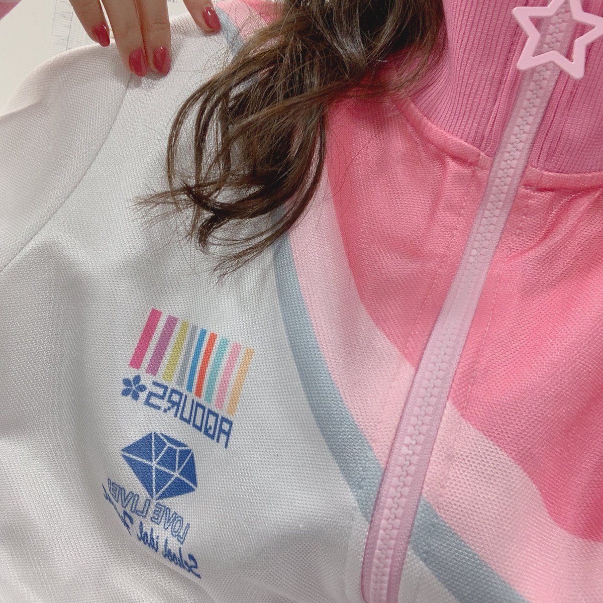 ラブライブフェス2日目。🌸梨子ちゃんと一緒に駆け抜けます!#lovelive#ラブライブフェス