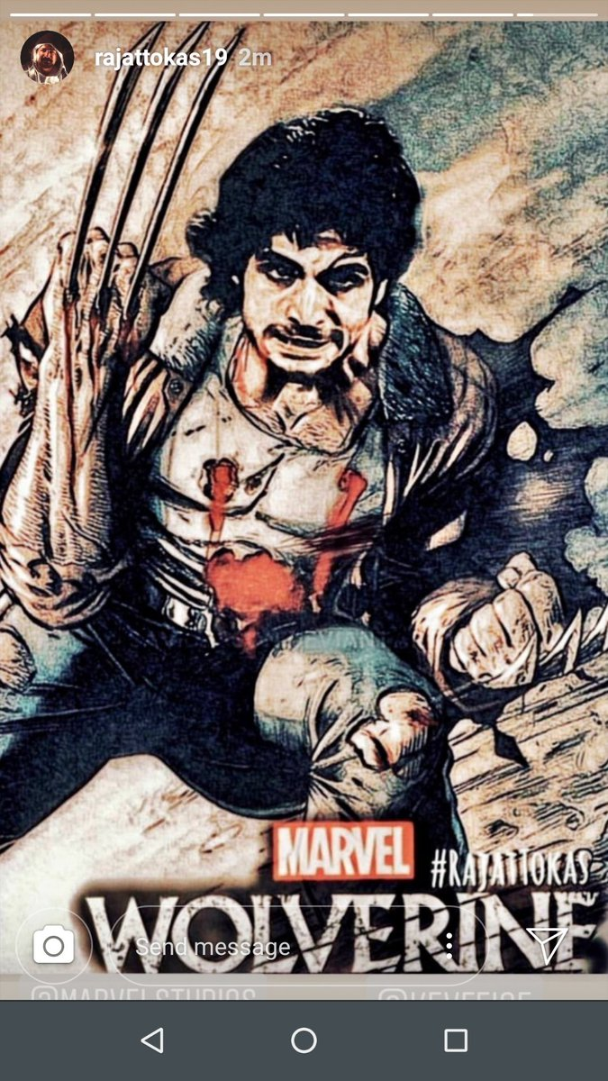 #rajattokasforwolverine #RajatTokas @RajjatTokas he is jewel of talents, kindly approve him as Wolverine @MarvelStudios @Kevfeigepic.twitter.com/43Y4tBKG9f