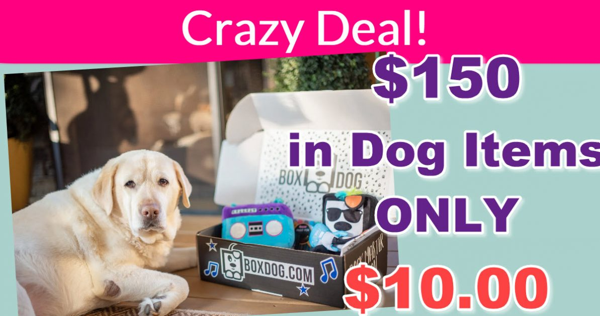 $150 In Dog Goodies for ONLY $10 ! CRAZY! -  #Deal #FREEBIES