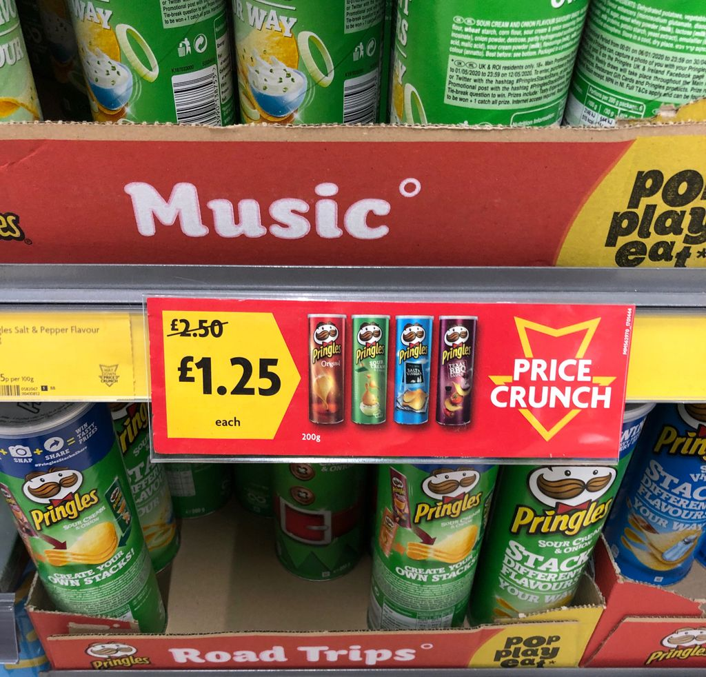 Morrison's is still the best place to go for #pringles #deals, unless you've seen a lower price somewhere? 🤔