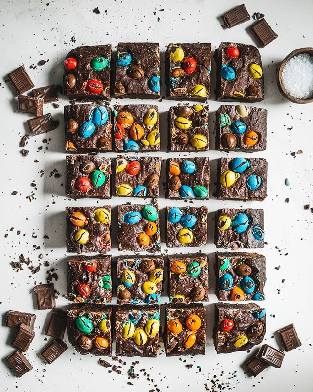 Peanut butter brownies 🍫