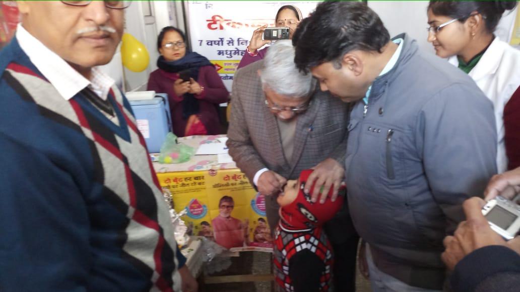 Pulse polio udgathan by Rd health Sagar<br>http://pic.twitter.com/ni53Lzsana