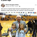 Image for the Tweet beginning: My girls with Governor Justice