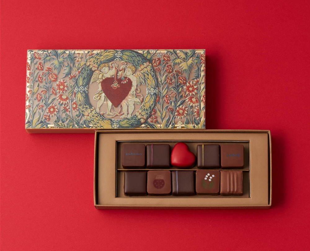 """ジャン=ポール・エヴァン""""ベリー""""の名古屋限定バレンタインチョコ、千花模様のパッケージで -"""