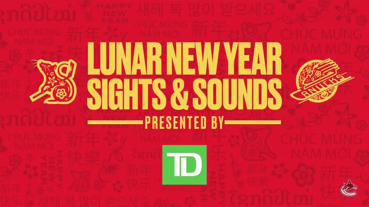 Check out the sights and sounds as we celebrate Lunar New Year #Canucks style! 🧧