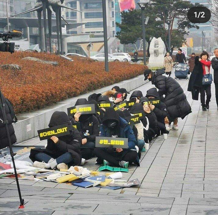 WHAT ARE YOU DOING???#AlwaysWithEXOChen  #EXOLBelievesInEXO9  #ChenWeLoveYou  #Stay_chen  #엑소9_평생_함께가자 @weareoneEXO  @SMTOWNGLOBAL  #WeAreOneForever pic.twitter.com/G7SlS7AO9q