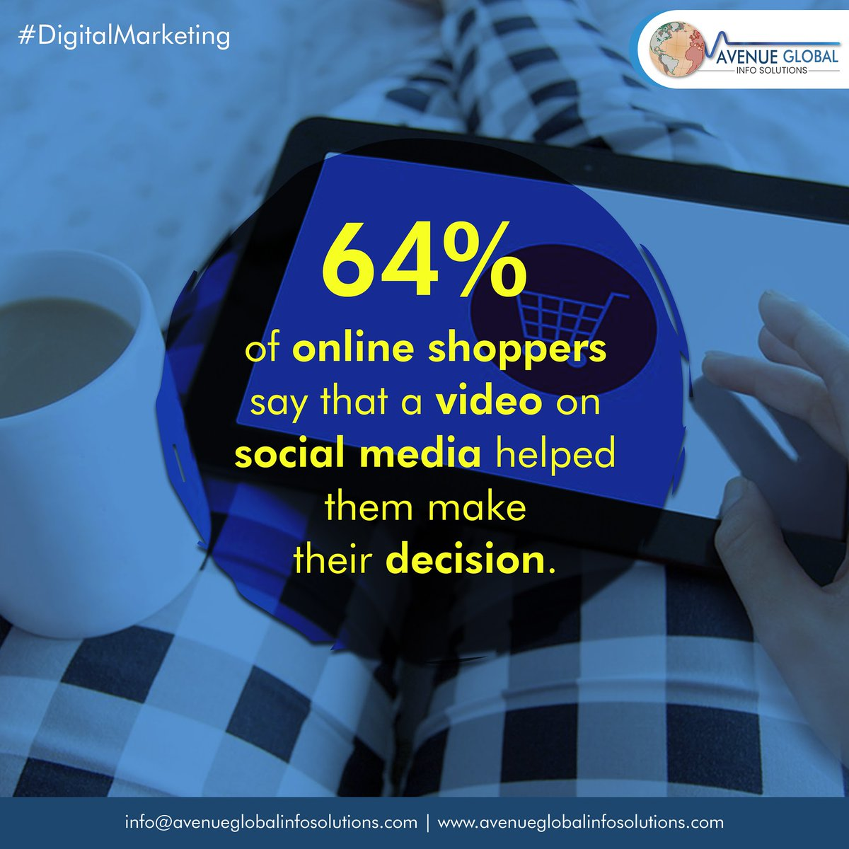 64% of online shoppers say that a video on Social media helped them make thier decision. #video #onlineshopping #socialmedia #smm #seo #content #artificialintelligence #software #technologyrocks #technologynews #technologysolutions #technology  #technomusic #DigitalMarketingpic.twitter.com/fBbeQykNQM