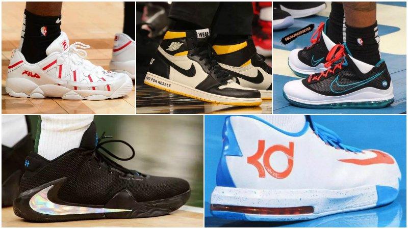 球鞋匯 | NBA球員今日球鞋上腳:安東尼穿新年配色AJ 34,KT 5的低幫版來了!-Haters-黑特籃球NBA新聞影音圖片分享社區