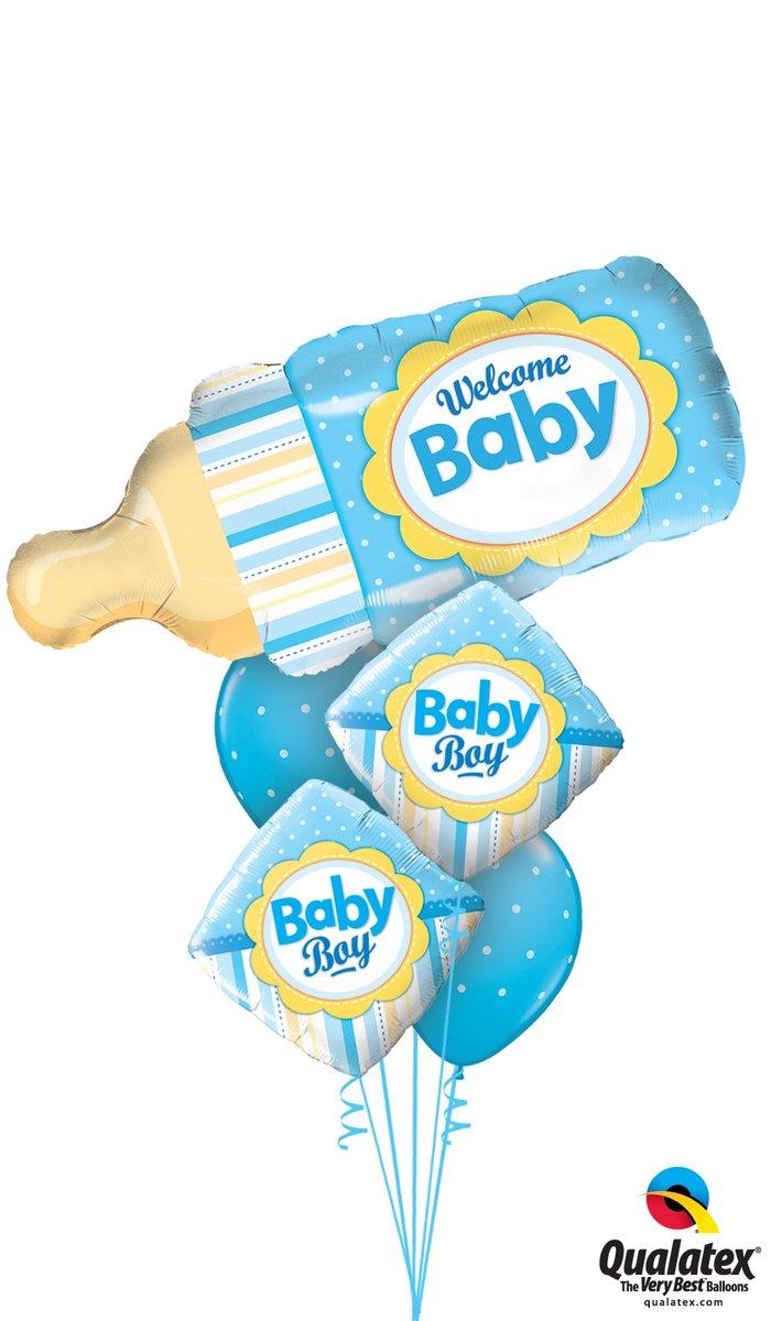 Balloons for new babies! #Harrogate