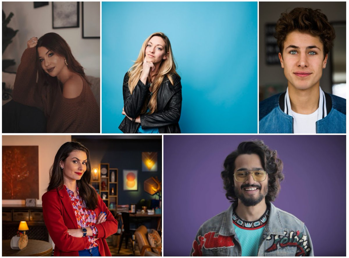 This year we've invited five YouTube stars to cover Davos from the inside -  @Bhuvan_Bam , @ElJuanpaZurita , @NathaliaArcuri , @thephysicsgirl  and @enjoyphoenix   Find out more about them here:  https://wef.ch/2tupzSu   #wef20