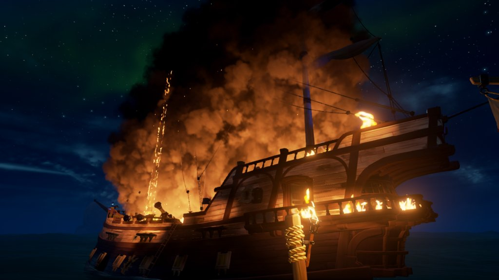 """This New Ship Set is Lit."" posted by u/Mako3232 in r/SeaOfFashion  #SeaOfFashion #BeMorePirate #SoTShot #SeaOfThieves"