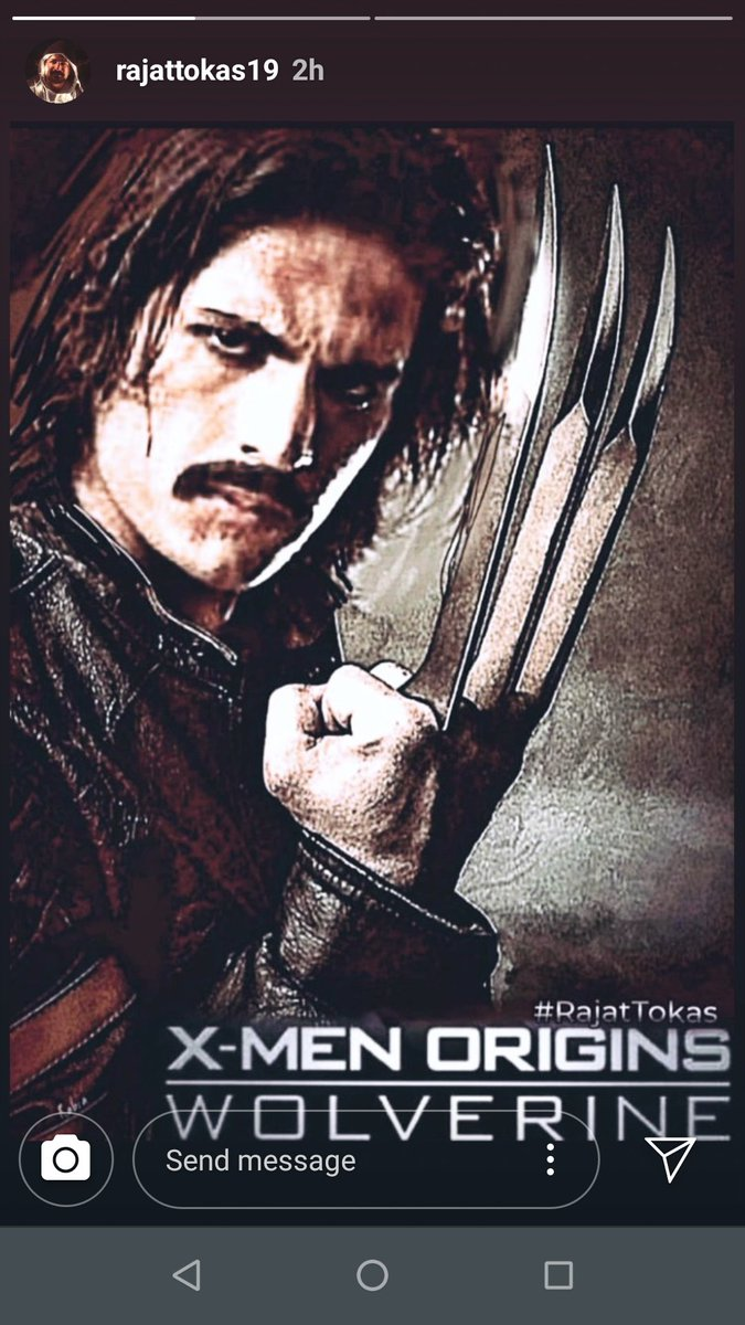 #rajattokasforwolverine #RajatTokas @RajjatTokas he is braveheart, confident about his aim, please call him for an audition @Kevfeige @MarvelStudios pic.twitter.com/iv8btNwR35