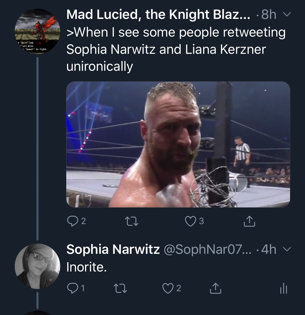 Sophia Superior Gamer Dna Narwitz On Twitter Was Literally On His Page At The Time He Posted It Sophia narwitz is a writer and journalist from the us. twitter