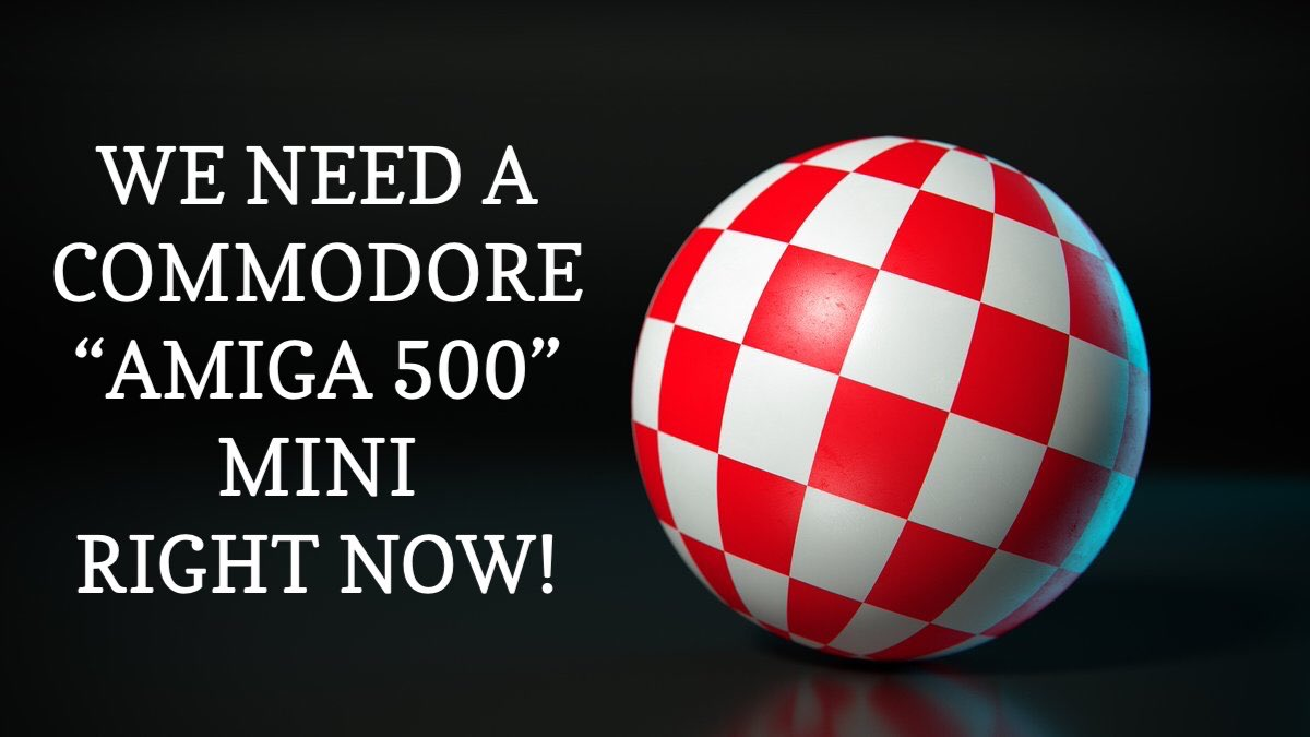 Plz... Let's Viral & Let's Get It !!! #CommodoreAmiga #Amiga500 #CommodoreComputer #Commodore #Amiga500Mini #RightNow #neozeisspic.twitter.com/B9pBWlDKKw