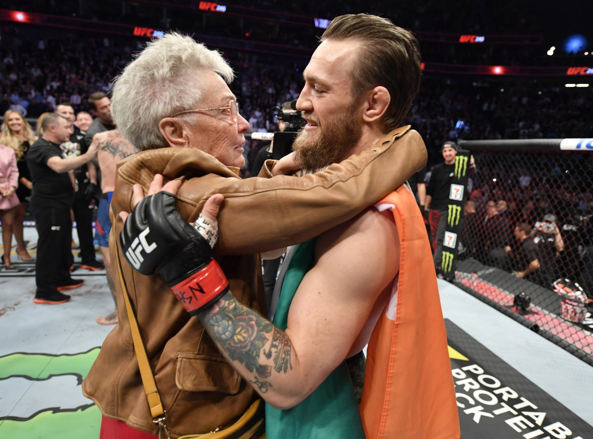 Unbelievable respect 🤝 #UFC246
