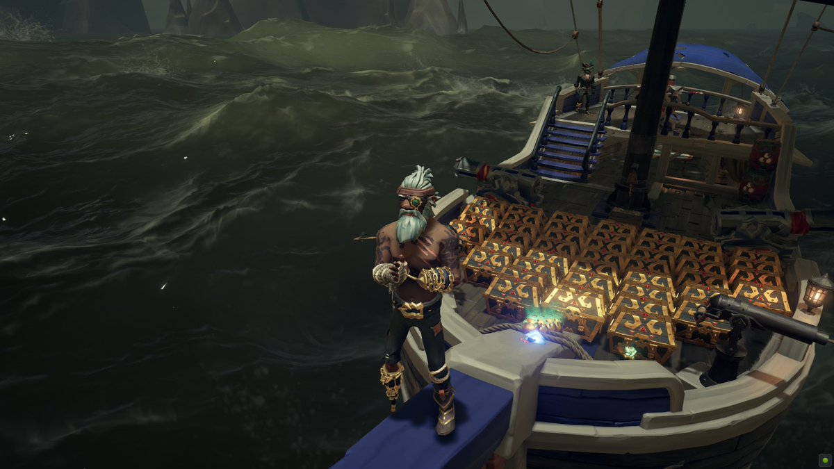 We love #Gold AaaRR ! #GermanMediaRT #SeaOfThieves #BeMorePirate #sotshot @SeaOfThieves @JoeNeate1