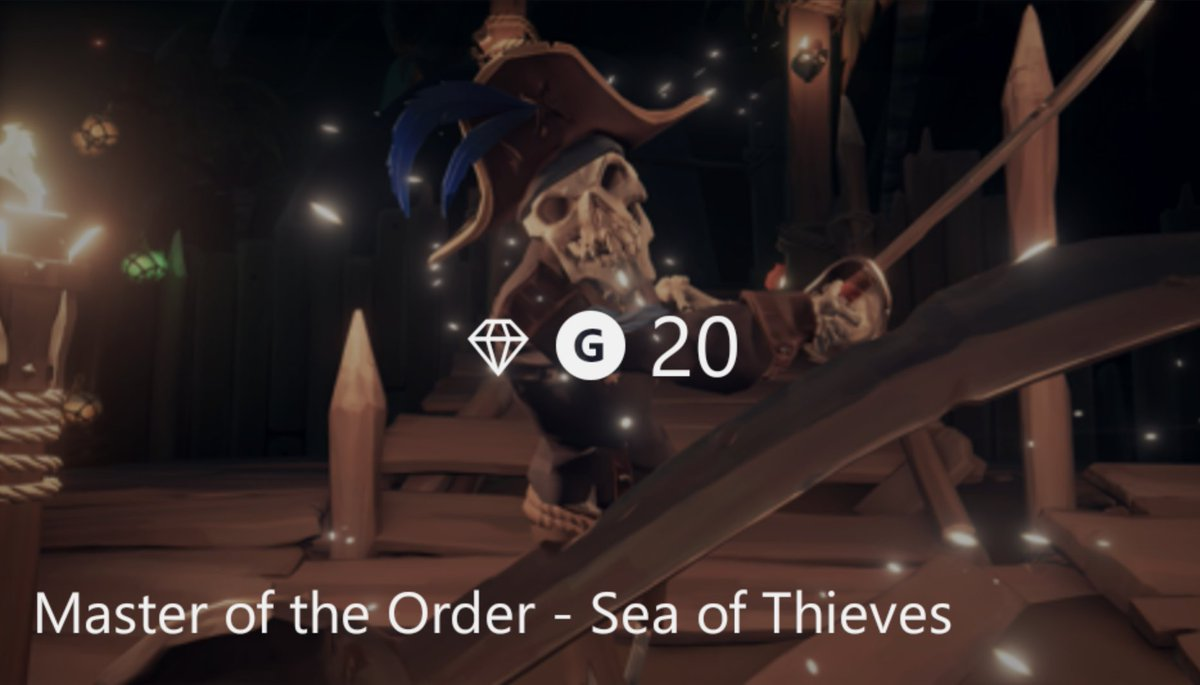 Shiver me timbers, Cap'n Duffy will soon be liftin her tankard to becoming the next pirate legend in Sea of Thieves. Drink up me hearties yo ho ho! #bemorepirate ☠️ @SeaOfThieves @RareLtd