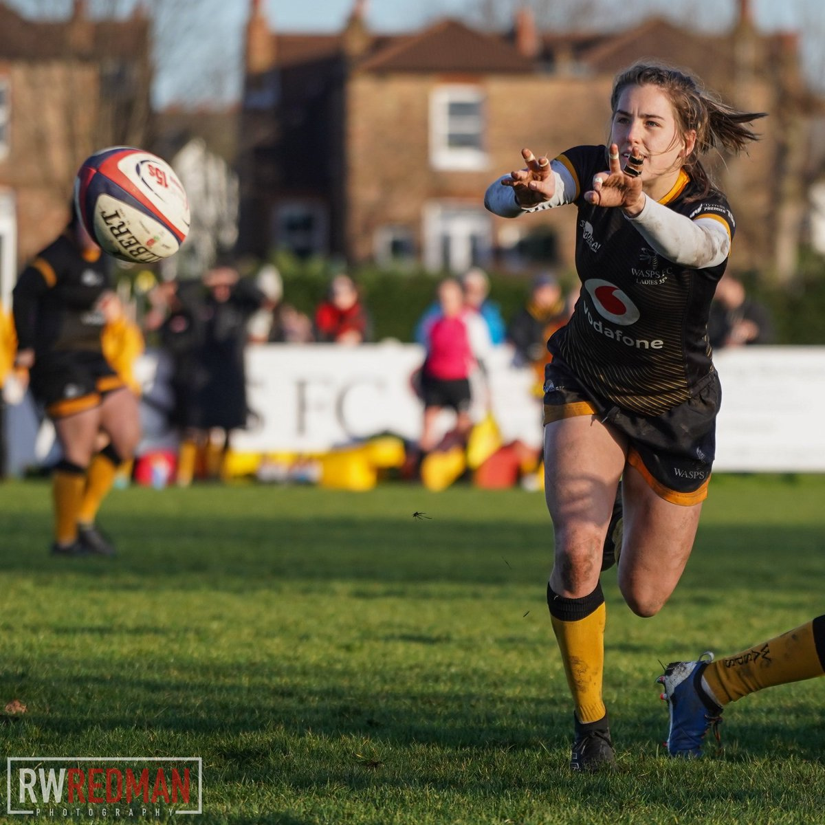 Match action from a fantastic game between @Waspsladies & @BristolBearsW in the @Premier15s