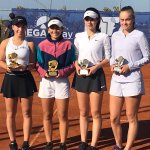 Image for the Tweet beginning: Antalya'da düzenlenen Grade 3 ITF