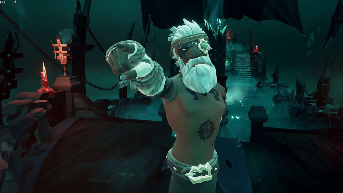 @SeaOfThieves This is the look of my Pirate right now Aye ! #JustBeautiful #BeMorePirate