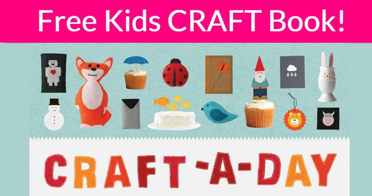 Free Kids Craft Book - Easy! -  #FREEBIES