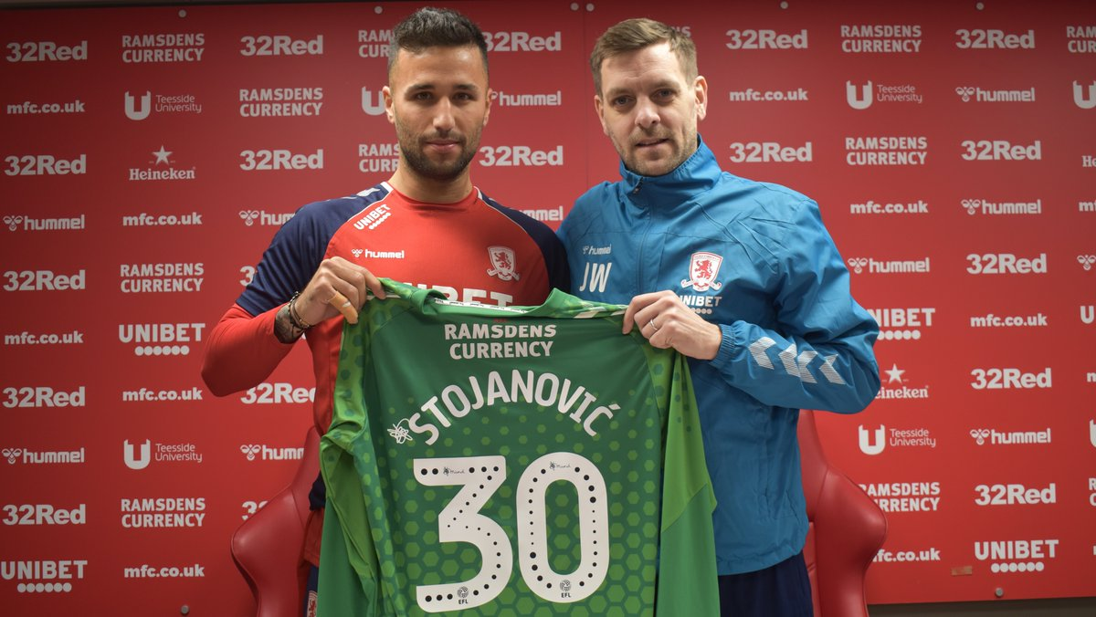 1⃣st day for Dejan Stojanovic. Welcome aboard our new number 3⃣0⃣#UTB