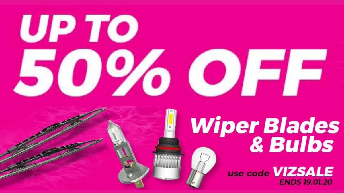 Wiper Blades & Bulbs #Sale  Ends Tonight  Shop Now ➡️➡️  #Automotive #cartips #autoparts #deals #HotDeals #discounts #rt #offers #VoucherCodes