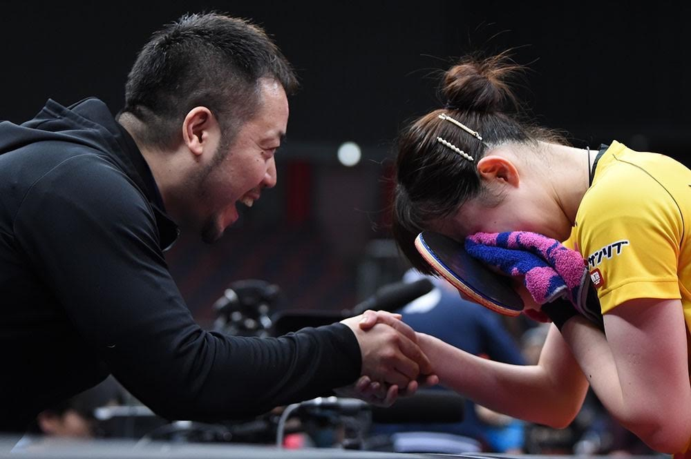 卓球「早田ひな」選手が全日本選手権で快挙を達成しました!!