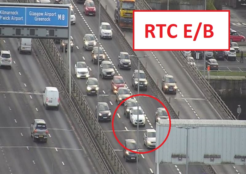 test Twitter Media - ❗ *NEW*⌚ 15:28  #M8 J20-J19 Kingston Bridge E/B  3 car RTC in lane 3 ⚠️   Cars can get passed by using the other lanes but please take care when doing so ❗ https://t.co/jfYf49QDPJ