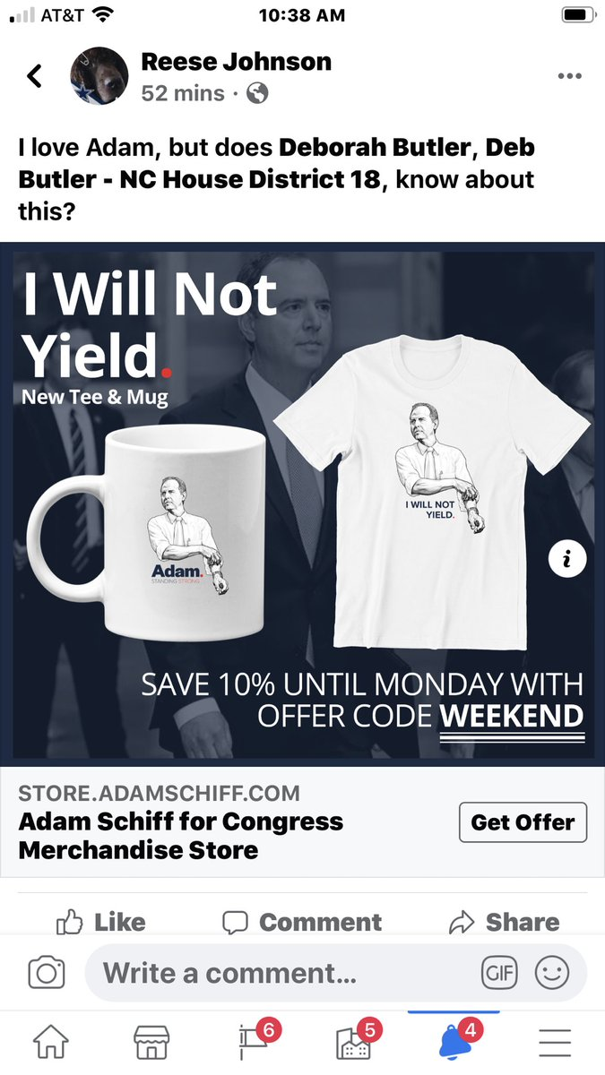 Imitation is the highest form of flattery, but I'm not sure about this ⁦@AdamSchiff⁩.